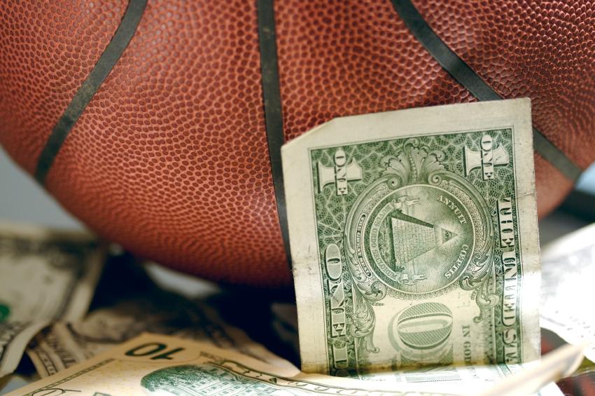 basketball-and-money