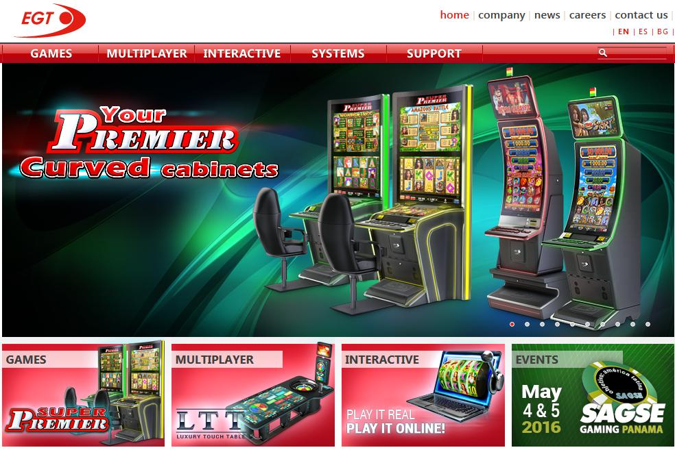 Casino gaming systems owning a casino web site