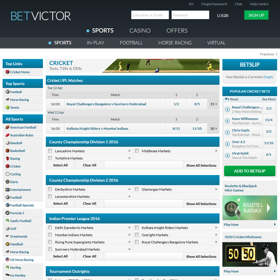 Why choose YesPlay from other cricket betting websites