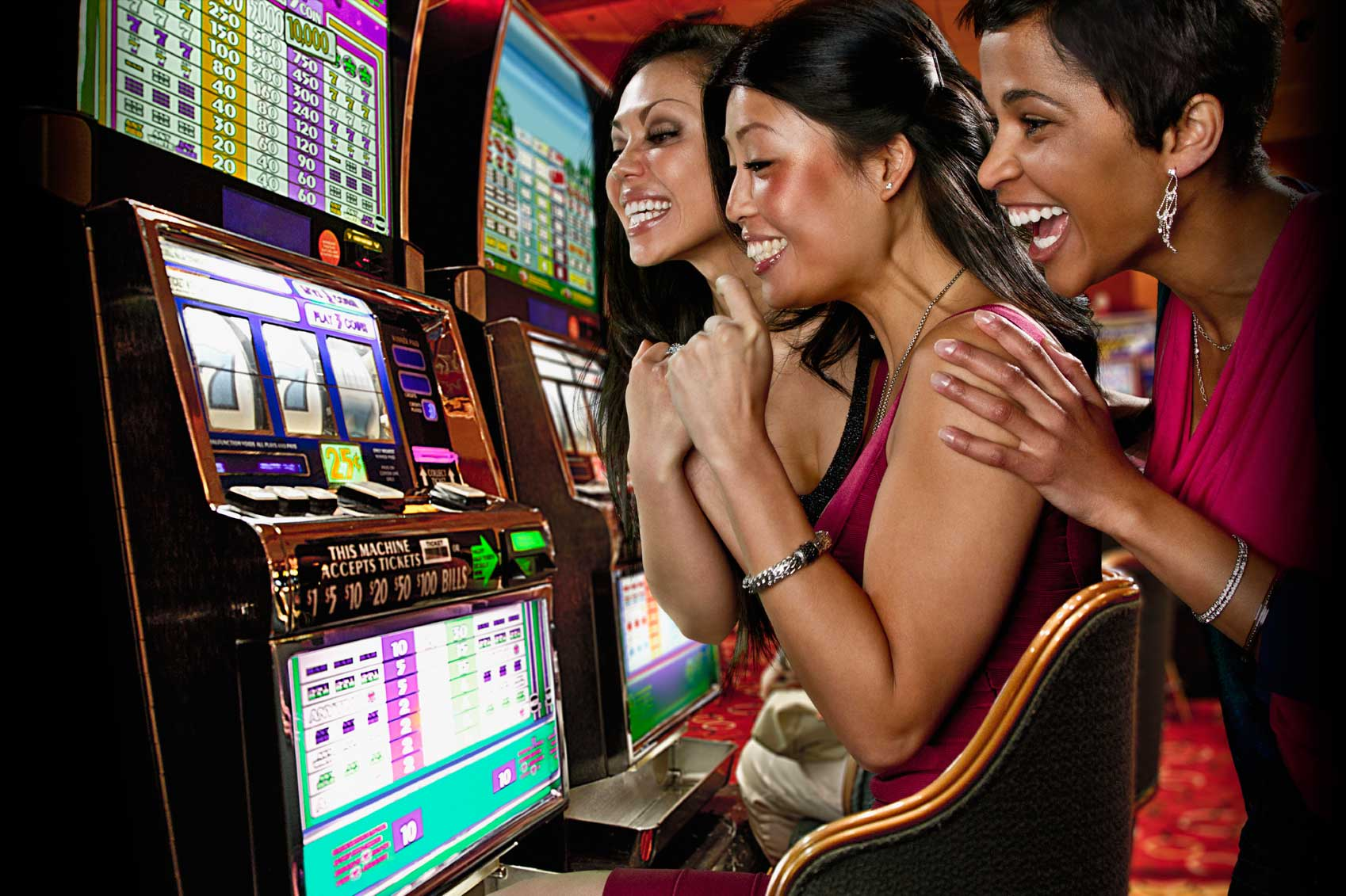 casino playing slot